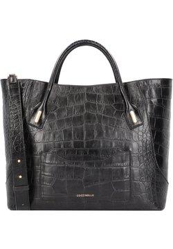 Coccinelle - EVASION CROCO - Shopping Bag - noir