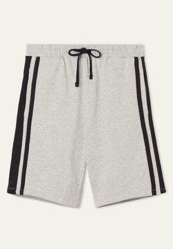 Tezenis - Shorts - light grey blend/black