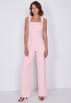 True Violet - SQUARE STRAPPY - Jumpsuit - pink