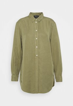 Marc O'Polo - BLOUSE LONG SLEEVE - Blusenkleid - dried sage