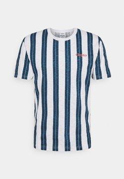Cleptomanicx - SOIR - T-Shirt print - blue wing