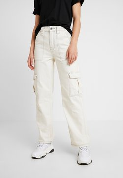 BDG Urban Outfitters - STITCH SKATE - Relaxed fit -farkut - ecru