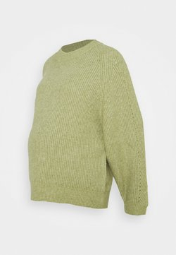 Topshop Maternity - DOLMAN  - Jersey de punto - green
