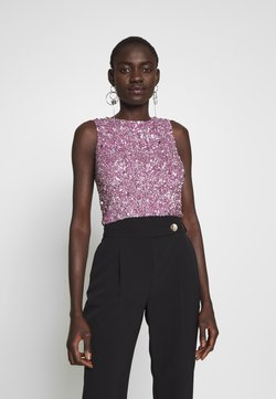Lace & Beads Tall - PICASSO - Top - lilac