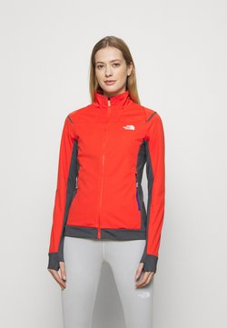 The North Face - SPEEDTOUR STRETCH - Chaqueta softshell - flare/vanadsgry