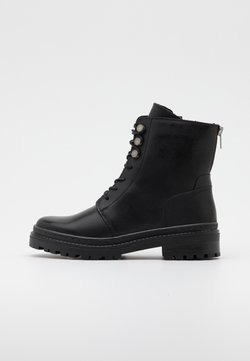 Vero Moda - VMHEIDI BOOT - Schnürstiefelette - black