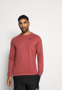 Nike Performance - DRY CREW - Collegepaita - claystone red/black