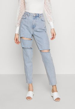 Topshop - SOFIA RIP MOM - Jeans Relaxed Fit - super bleach