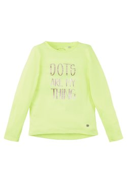 TOM TAILOR - Longsleeve - fiery lime neon|green