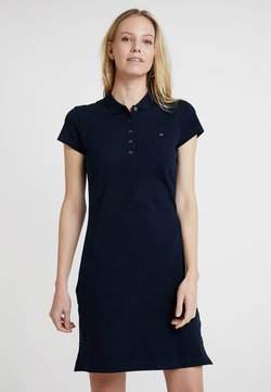 Tommy Hilfiger - HERITAGE SLIM DRESS - Freizeitkleid - midnight