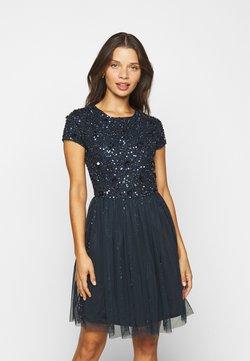 Lace & Beads Petite - NESSIA - Robe de soirée - navy
