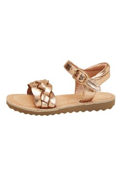 Next - ROSE GOLD BUCKLE TWIST SANDALS (YOUNGER) - Sandalen - gold