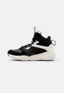 Geox - BUBBLEX GIRL - Sneaker high - black/white