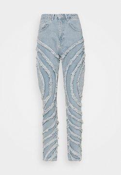 The Ragged Priest - GAZE JEAN - Jeans Straight Leg - light blue