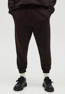 PULL&BEAR - Jogginghose - mottled brown