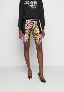 Versace Jeans Couture - LADY FUSEAUX - Shorts - black
