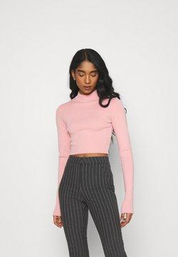 Weekday - KIMBER CROPPED - Sweter - pink medium