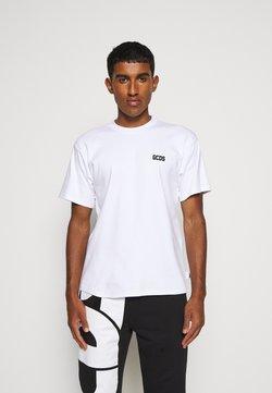 GCDS - BASIC TEE - T-shirt basic - white