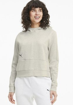 Puma - NU TILITY  - Kapuzenpullover - white heather