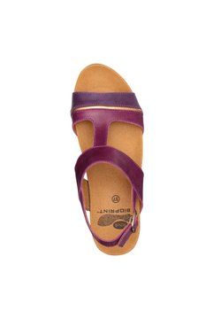 Scholl - MIT KEILABSATZ ELYSSA - Sandali con zeppa - violett