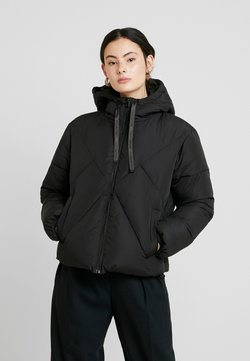 Calvin Klein Jeans - QUILTED PUFFER JACKET - Winterjacke - black