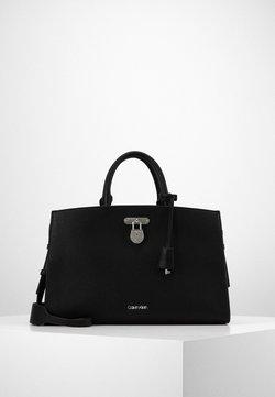 Calvin Klein - DRESSED BUSINESS TOTE  - Torebka - black