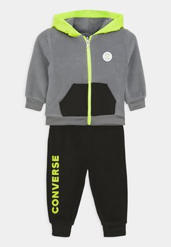 Converse - HOODIE SET UNISEX - Fleecejacke - cool gray