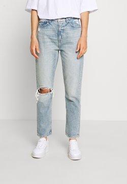 American Eagle - MOM JEAN - Jeans Slim Fit - destroyed light wash