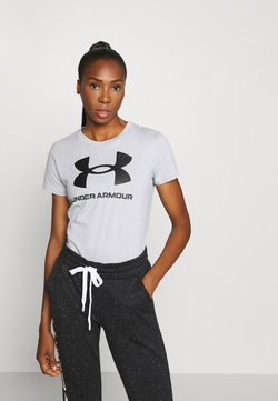 Under Armour - LIVE SPORTSTYLE GRAPHIC - T-Shirt print - mod gray light heather