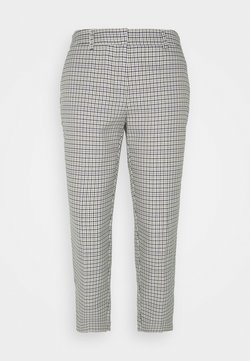 Dorothy Perkins Petite - LILAC CHECK NAPLES TROUSERS - Stoffhose - lilac