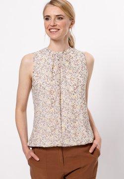 zero - MIT DRUCK - Bluse - raw cotton