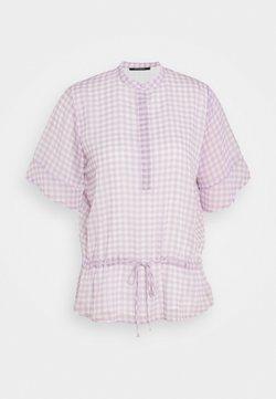 Bruuns Bazaar - CHECKS BEATRICE - Blouse - lavender