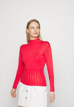 Marks & Spencer London - DEEP CUFF FUNN - Maglione - red