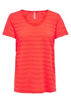 ONLY Play - ONPSUE TRAINING TEE - Funktionsshirt - fiery coral