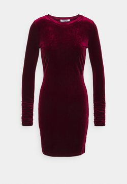 Glamorous - FRIDAY LONG SLEEVE DRESS - Etuikleid - burgundy