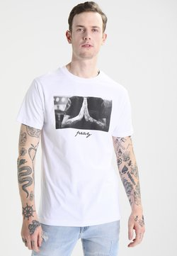 Mister Tee - PRAY - T-shirt con stampa - white