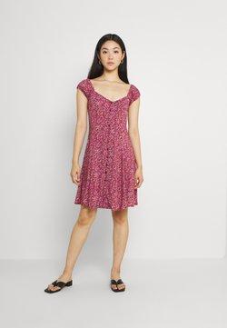 Rolla's - ERIN PARIS FLORAL DRESS - Freizeitkleid - red