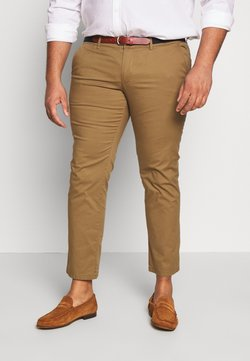 Selected Homme - SLHSLIM YARD PANTS - Chinot - dark camel