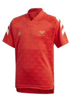 adidas Performance - PRIMEGREEN JERSEY - T-shirt med print - red
