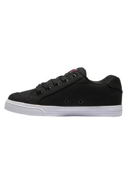 DC Shoes - Matalavartiset tennarit - black pink stencil