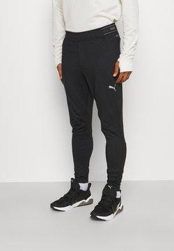 Puma - RUN COOLADAPT TAPERED PANT - Pantaloni sportivi - black