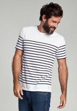 Armor lux - ETEL MARINIÈRE - T-Shirt print - blanc/navire
