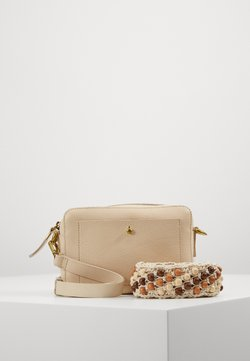 Madewell - TRANSPORT CAMERA BAGSOLID BEADED STRAP - Torba na ramię - vintage parchment