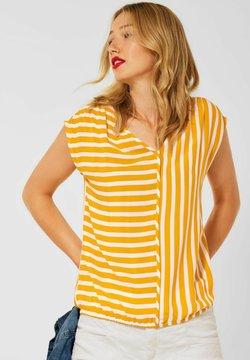 Street One - T-Shirt print - gelb