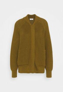CLOSED - HEAVY JUMPER - Cardigan - golden brown