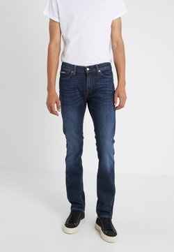 7 for all mankind - RONNIE SPECIAL EDITION PLUCKY - Slim fit jeans - dark blue