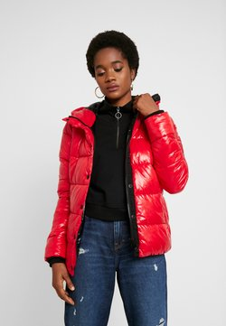 Superdry - HIGH SHINE TOYA PUFFER - Winterjacke - red
