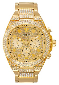 Guess - SWAROVSKI CRYSTALS - Zegarek - gold-coloured