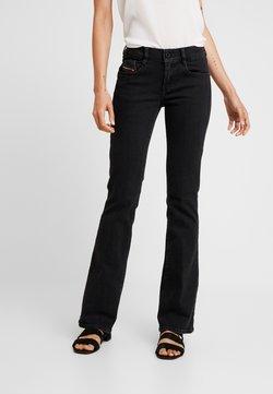 Diesel - D-EBBEY - Jeans Bootcut - black