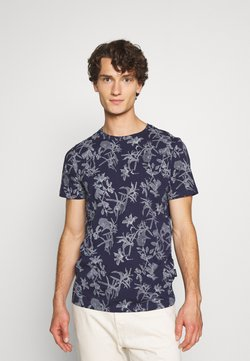 Nerve - JANNIK TEE - T-shirt print - evening blue